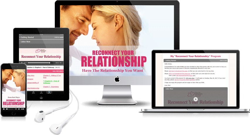 Reconnect Your Relationship Program Display
