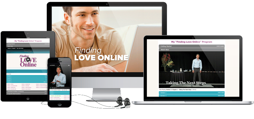 Finding Love Online Program Display