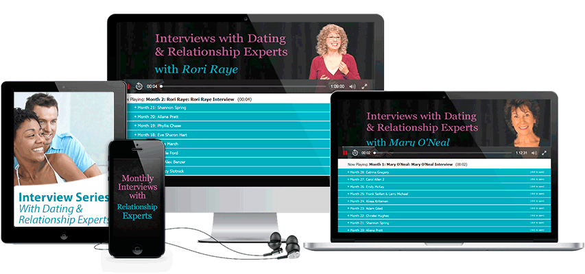 Interviews With Dating & Relationship Experts Program Display