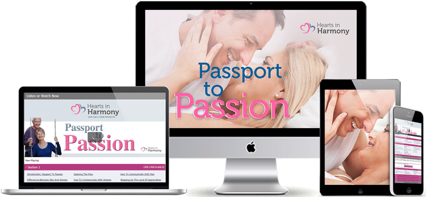 Passport To Passion Program Display