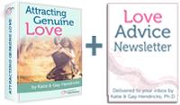 Attracting Genuine Love + Newsletter