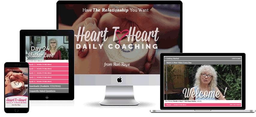 Heart to Heart Daily Coaching Program Display