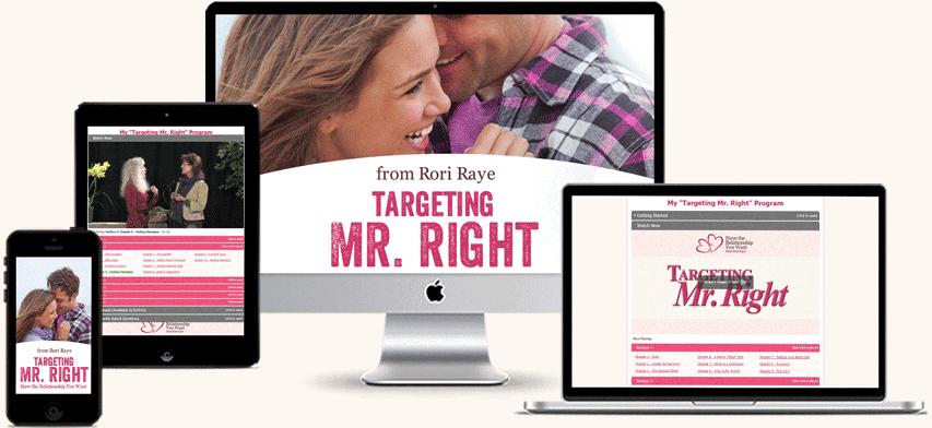 Targeting Mr. Right Program Display
